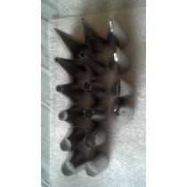 Bicos Inox Para Confeitar Profissional 6cm Kit C/16 Peças