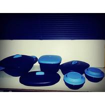 Tupperware - Kit Actualité - Azul - 6 Peças.