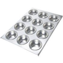 Forma Para Assar Pão De Queijo - 12 Cavidades - Alumínio