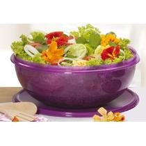 Saladeira 6500 Ml Tupperware- De$contaço- Cor Verde