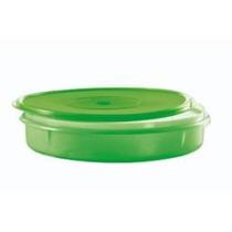 Tupperware - Porta Tortas Verde (30 Diâmetro X 5 Cm Altura)