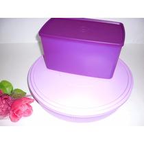 Porta Torta E Espaçosa Tupperware