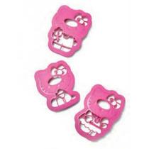 Forma Biscoitos Hello Kitty Tupperware 3 Peças