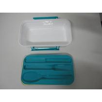 Marmita Plástica Marmibox - Microondas- Banho Maria- Freeser