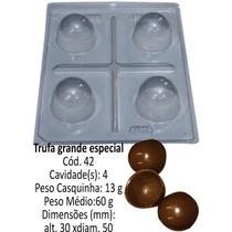 Forma De Chocolate Para Trufa Bwb (1 Forma C/3 Partes)