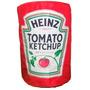 Capa Galão De Água 20 L Heinz Ketchup Geek Retrô Vintage