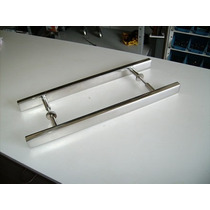Puxadores Duplo 100 Cm -portas Pivotantes Madeira/vidro