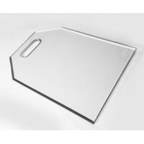 Tábua De Carne De Vidro Temperado Transparente (incolor)