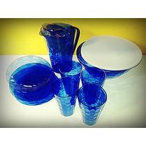 Tupperware Kit Linha Prisma Azul - 10 Peças - Policarbonato.