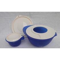 Tupperware Tigela Batedeira 3,5l + 650ml + Tp Anti-respingo
