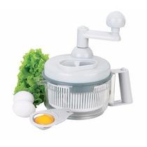 Secador De Salada Verduras 3 Em 1