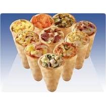 12 Formas Para Pizza Cone