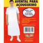 Avental Pvc Açougueiro Peixeiro Padeiro Pizzaiolo