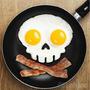 Forma Molde De Caveira Para Ovos Fritos