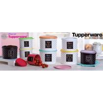 Tupperware Kit Caixas Mantimentos Bistrô - 8 Peças