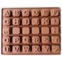 Molde Letras Silicone P/ Bombom Chocolate Artesanato