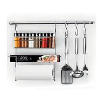 Kit Suporte Porta Condimentos Cook Home Arthi 17pçs