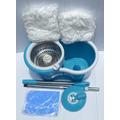Spin Mop Inox 360° Dura Mais +toalha Magic Centrifuga And Go