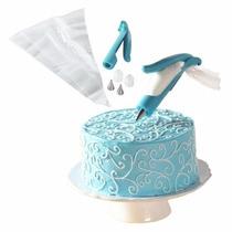 Kit Confeiteiro Decorador De Bolo Cupcake Torta C/ 4 Bicos