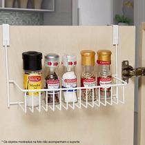 Suporte P/ Porta De Armário Encaixe Cozinha Closet Banheiro