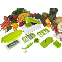 Nicer Dicer Plus - Cortador Fatiador Legumes Verduras Frutas