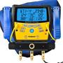 Manifold Digital Com 3 Portas E Vacuômetro Sman360