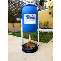 Alimentador Automático Suspenso Na Parede Para Cavalos 100l