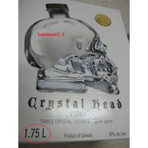 Vodka Crystal Head 1750ml Original (leia O Anuncio)