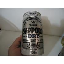 Lata Cerveja Antiga Sapporo Dry P-colecio [orgulhodoml2]