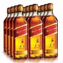 Whisky Red Label - 1l - Caixa Com 12 Unidades