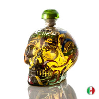 Tequila La Tilica 100% Agave Reposado Caveira 750 Ml