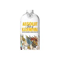 Vodka Absolut Karnival Com Maracujá E Laranja 1 Litro