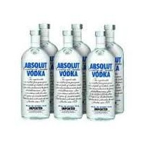 Vodka Absolut Natural Original Caixa Com 12 Litros