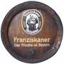 Quadro Tampa De Barril Decorativa Cerveja Franziskaner