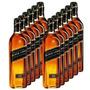 Whisky Johnnie Walker Black Label Original Caixa Com 12l