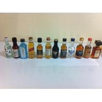 Kit Com 12 Miniaturas De Bebidas Variadas Originais 50ml