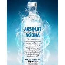 Vodka Absolut Natural 1l Original