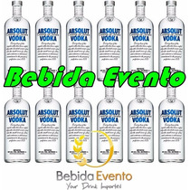 Vodka Absolut 1lt Cx C/12