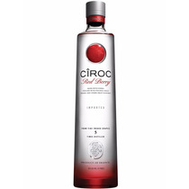Vodka Ciroc Red Berry Original 750ml Sabor Frutas Vermelhas