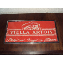 Raro Quadro Bordado Antigo Da Stella Artois Unico