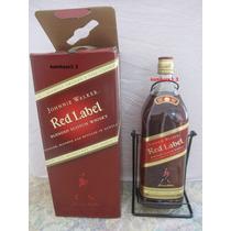 Wisky Red Label 4,5 L, Original. Lacrado Com Suporte