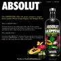Vodka Absolut Grapevine - Edição Especial 1l 100% Original