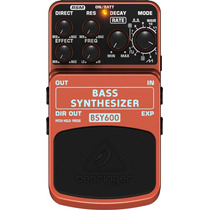 Bsy600: Pedal Para Contrabaixo Bass Synthesizer - Behringer