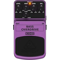 Pedal Bass Overdriver Bod400 Behringer