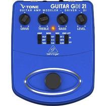 Pedal Para Guitarra V-tone Guitar Drive Gdi-21 Behringer
