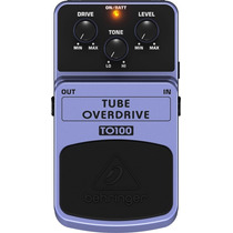Pedal Behringer Tube Overdrive To100