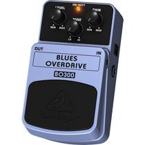 Bo300: Pedal Blues Overdrive Bo 300 Behringer