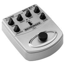 Pedal De Efeito V-tone Bass Amp Modeler Bdi-21 Behringer