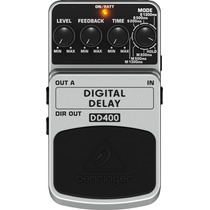 Pedal Digital Delay Behringer Dd 400