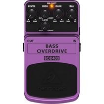 Pedal Bass Overdriver Bod 400 Behringer P/baixo
